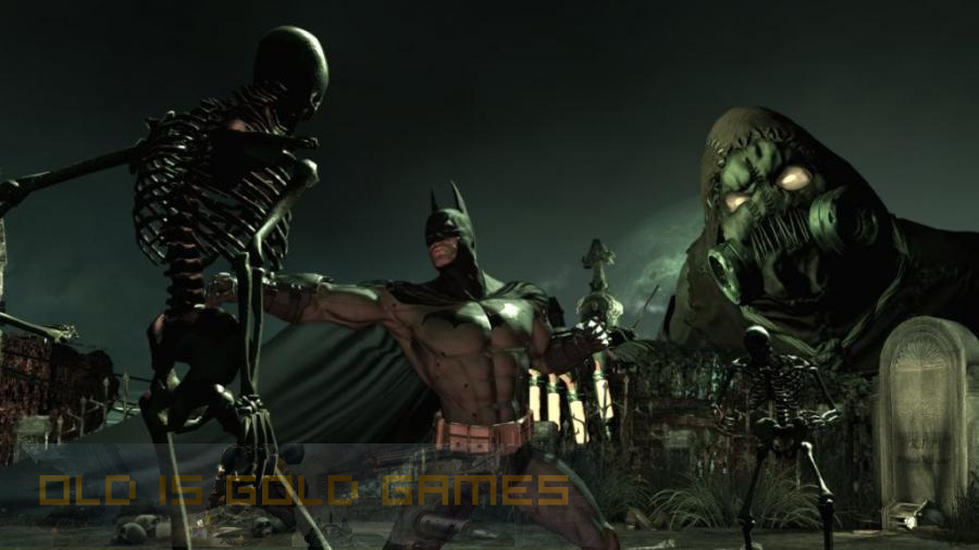 Batman Arkham Asylum Setup Free Download
