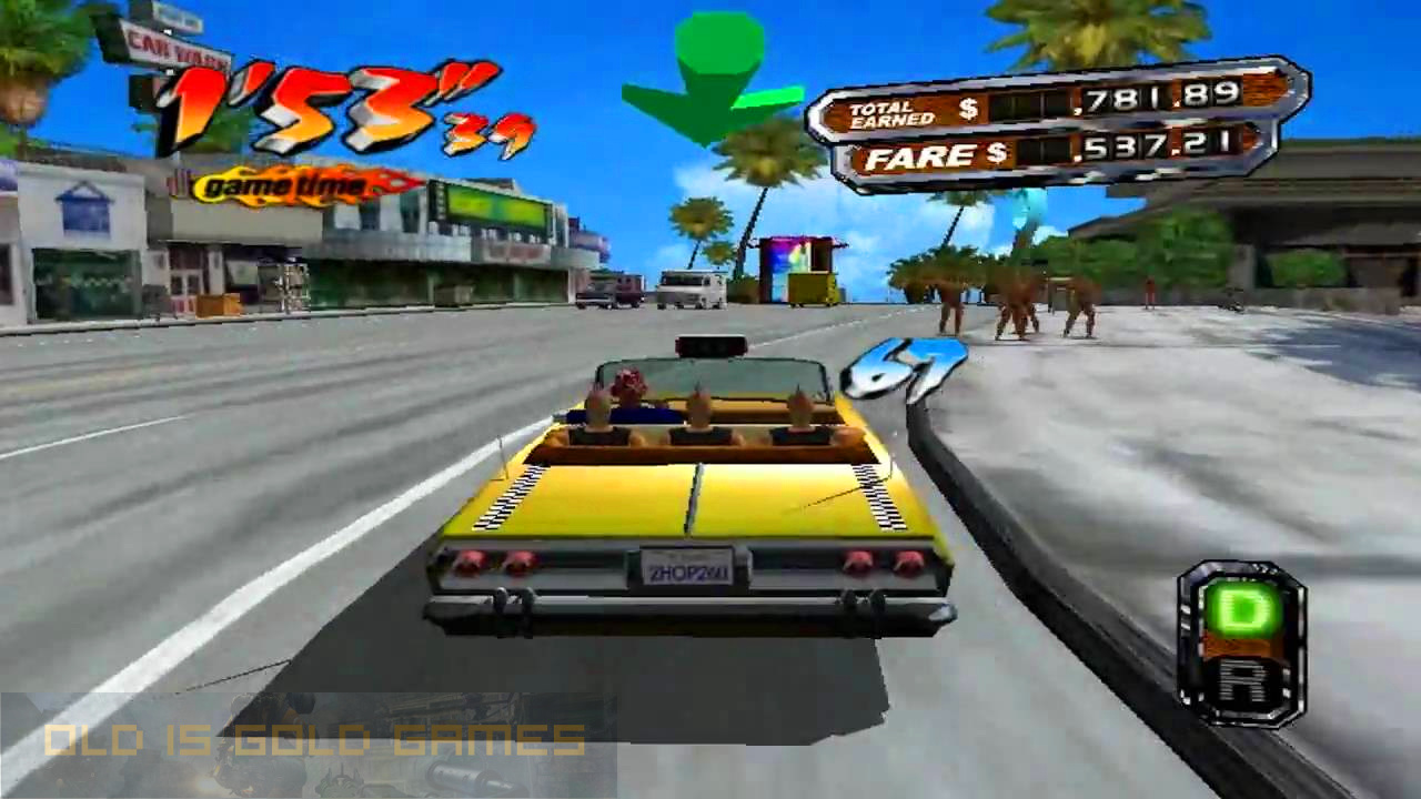 Crazy Taxi 3 Features