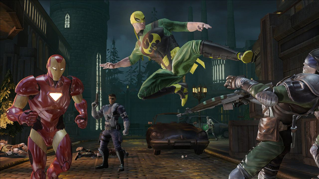 Marvel Ultimate Alliance Features