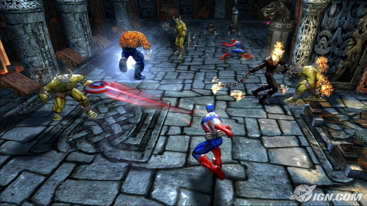 Marvel Ultimate Alliance Setup Free Download