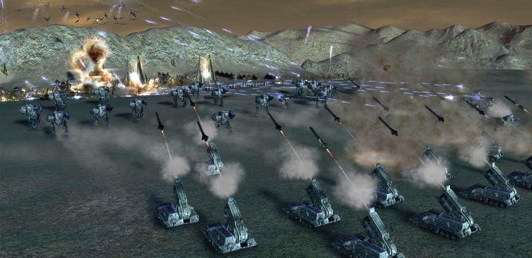 Supreme Commander Forged Alliance Features