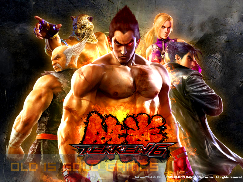 Tekken 6 Free Download